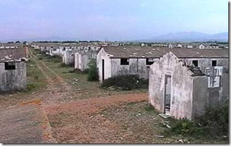 ruins of Rivesaltes camp